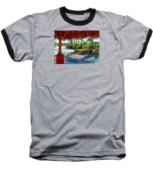 Kemah Boardwalk Baseball T-Shirt by Fred Jinkins