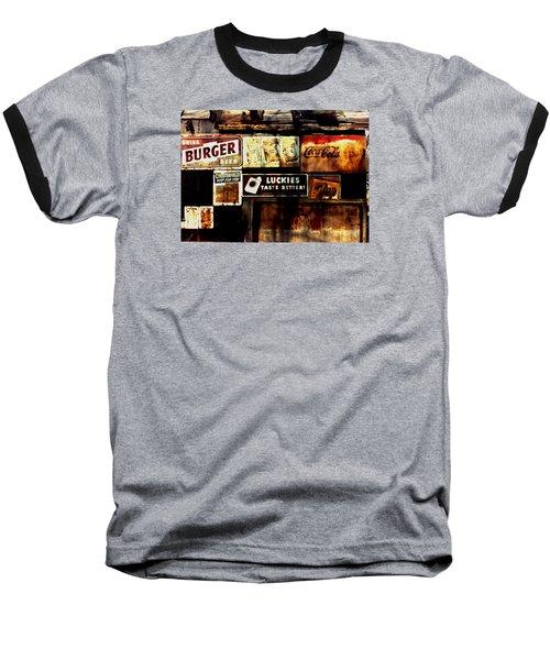 Kentucky Shed Ad Signs Baseball T-Shirt