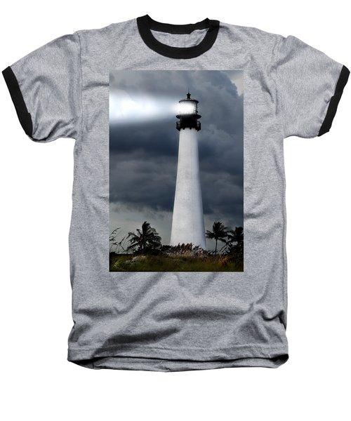 Key Biscayne Lighthouse Baseball T-Shirt