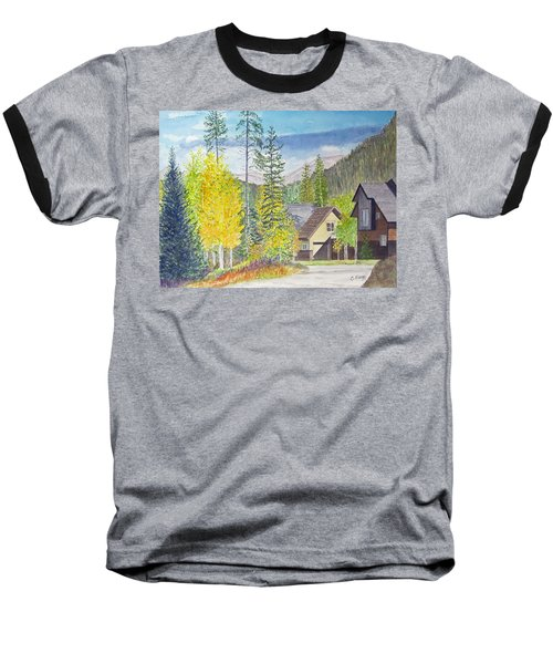 Baseball T-Shirt featuring the painting Keystone Co by Carol Flagg