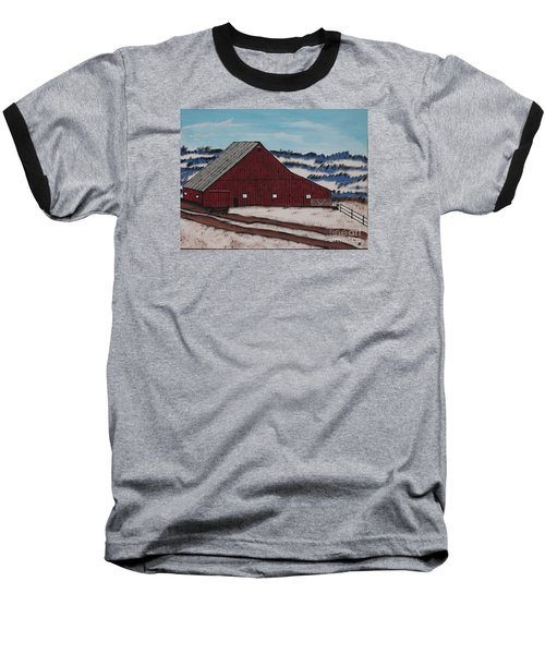 Keystone Farm Baseball T-Shirt by Jeffrey Koss
