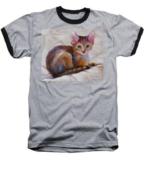 Kitten Princess Baseball T-Shirt