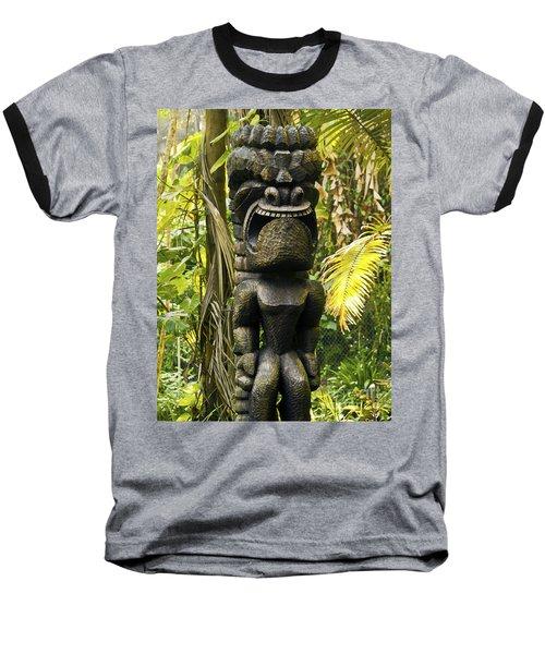 Ku - God Of War Baseball T-Shirt