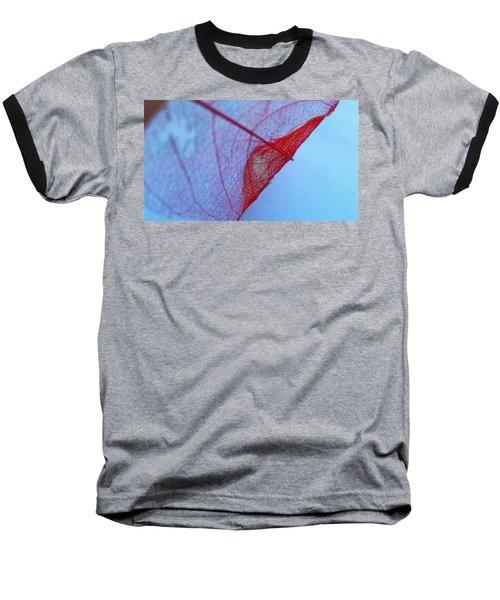 Lace Leaf 3 Baseball T-Shirt
