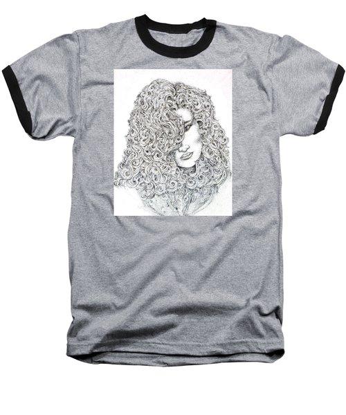 Curls Baseball T-Shirt