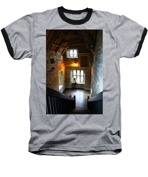 Baseball T-Shirt featuring the photograph Lady In Waiting  by Charlie and Norma Brock