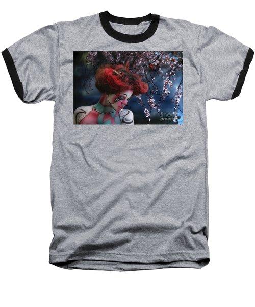 Lady Spring Silence Baseball T-Shirt