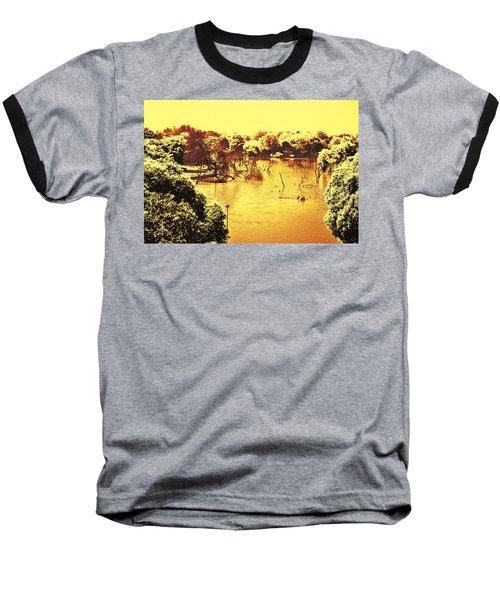 Lake In India Baseball T-Shirt