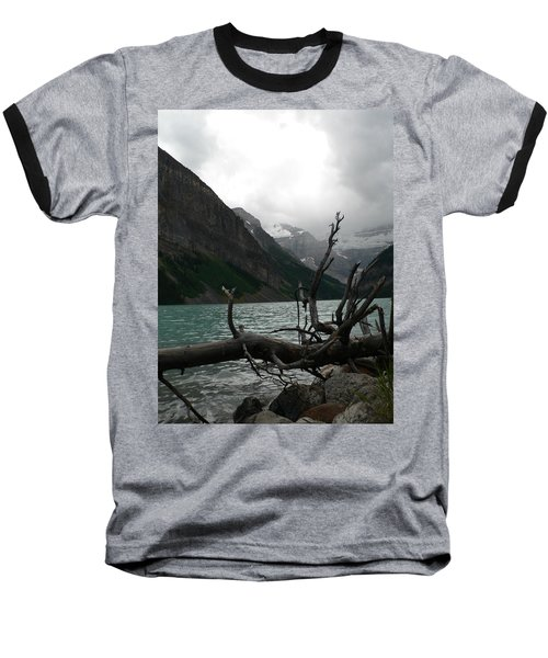 Baseball T-Shirt featuring the photograph Lake Louise by Laurel Best