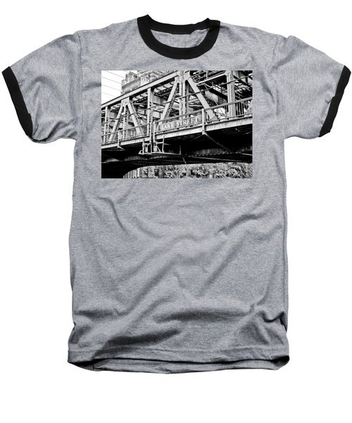 Lake Street Bridge Baseball T-Shirt
