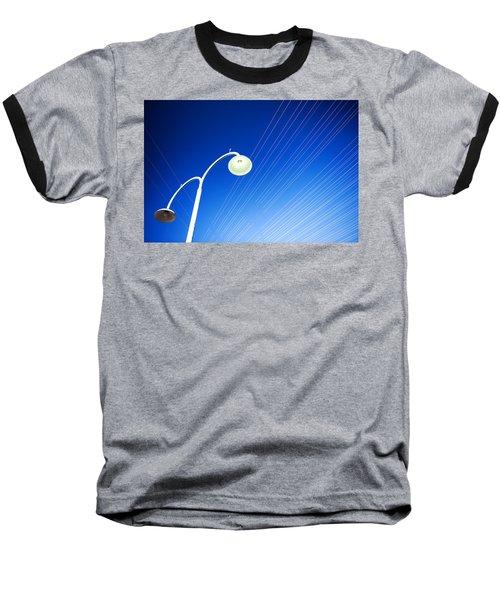 Lamp Post And Cables Baseball T-Shirt