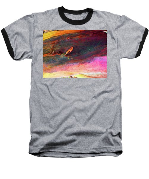 Baseball T-Shirt featuring the digital art Landing by Richard Laeton