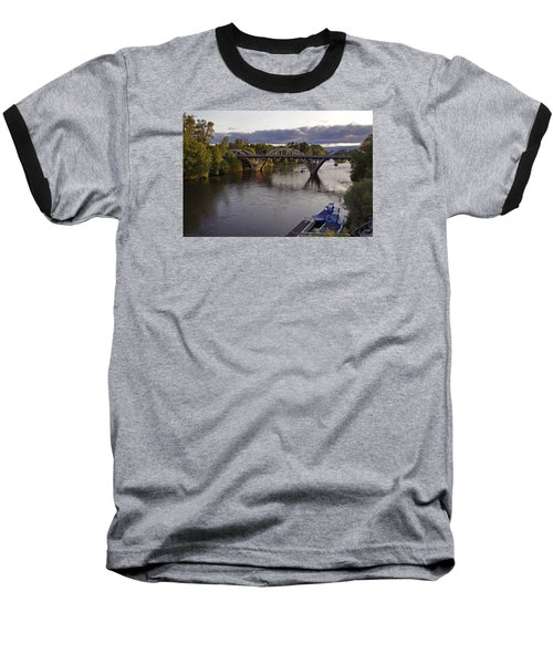 Last Light On Caveman Bridge Baseball T-Shirt