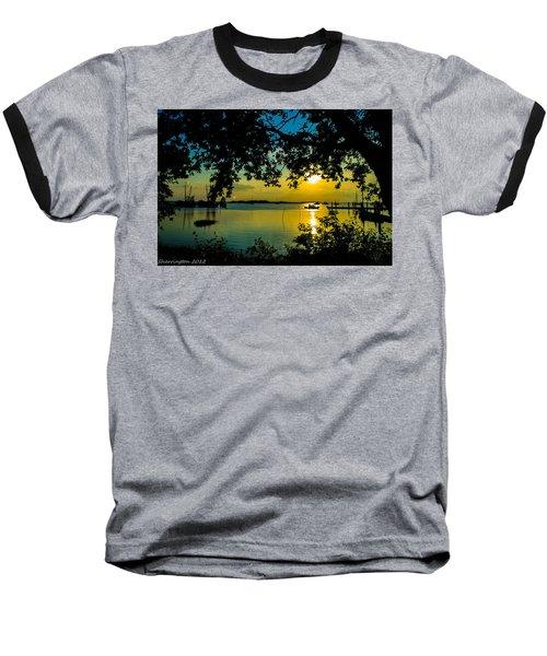 Last Patroll Tonight Baseball T-Shirt by Shannon Harrington