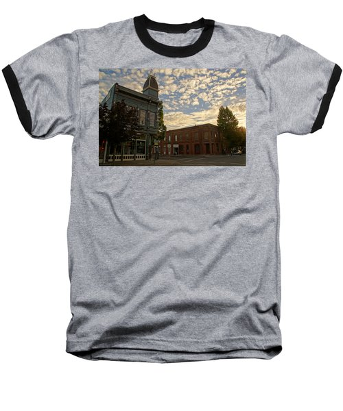 Late Afternoon At The Corner Of 5th And G Baseball T-Shirt