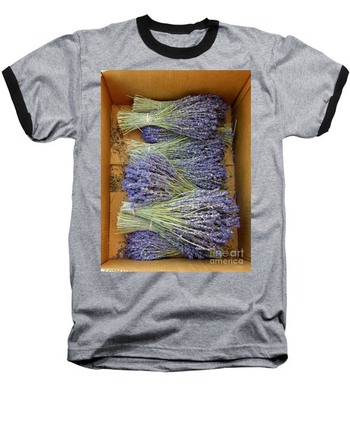 Baseball T-Shirt featuring the photograph Lavender Bundles by Lainie Wrightson