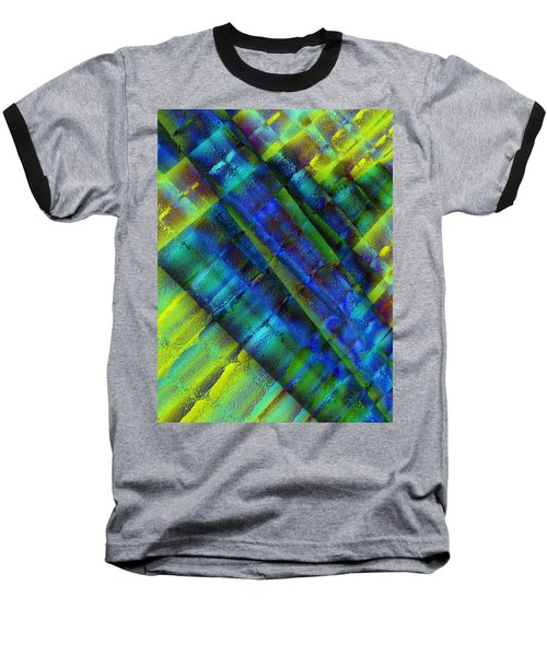 Baseball T-Shirt featuring the photograph Layers Of Blue by David Pantuso
