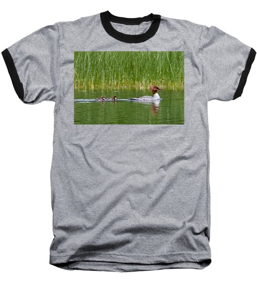 Baseball T-Shirt featuring the photograph Lazy Swim by Brent L Ander