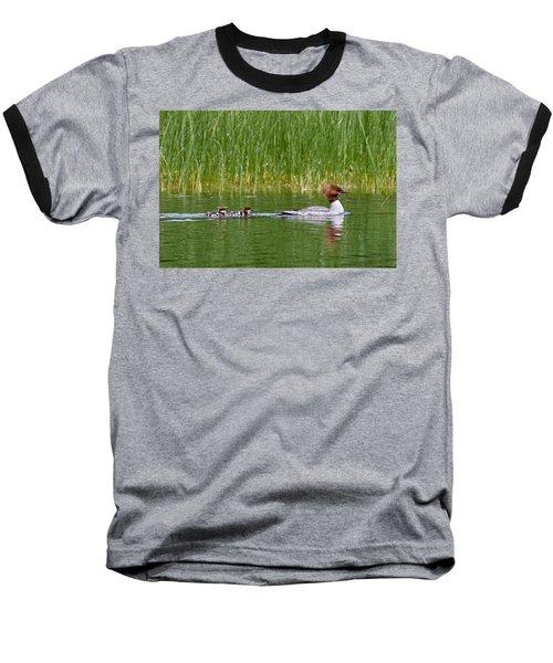 Lazy Swim Baseball T-Shirt