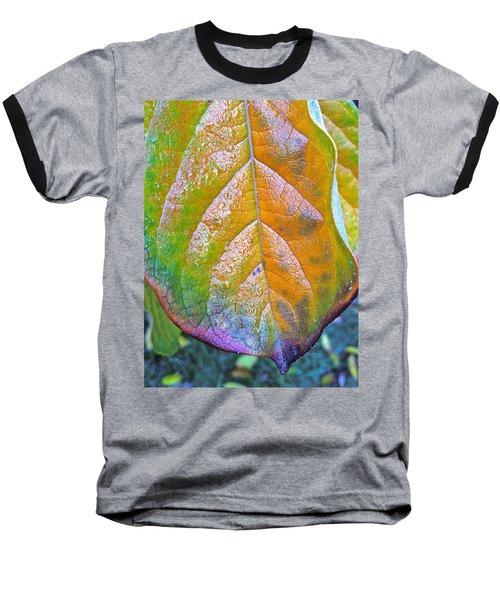 Baseball T-Shirt featuring the photograph Leaf by Bill Owen