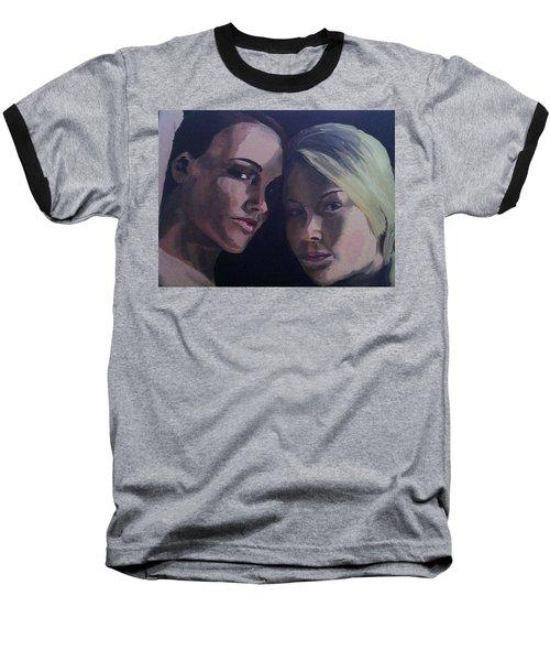 Leah And Tiffany Baseball T-Shirt