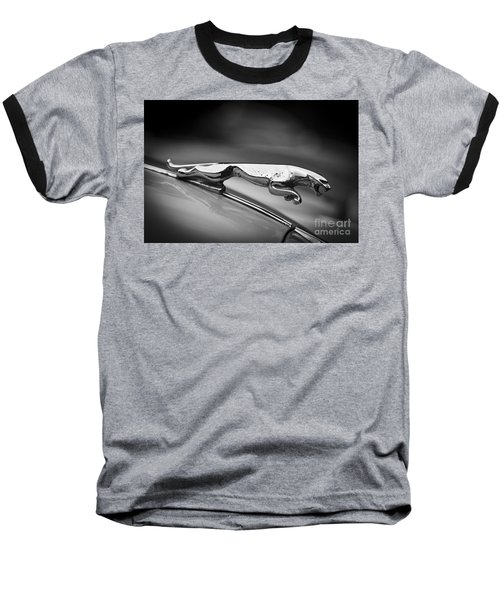 Leaping Jaguar Baseball T-Shirt