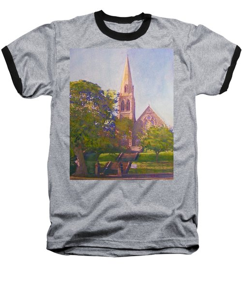 Leckie Memorial  Church  Peebles Scotland Baseball T-Shirt