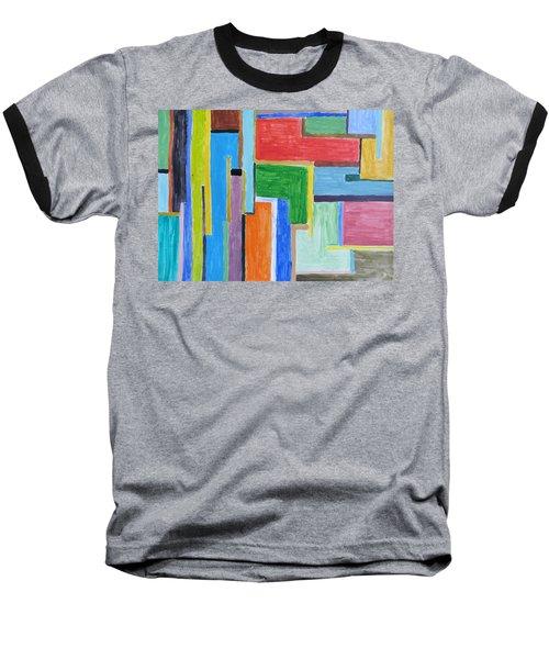 Baseball T-Shirt featuring the painting Life by Sonali Gangane