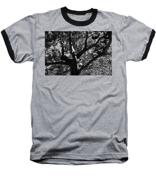 Baseball T-Shirt featuring the photograph Light And Dark by Brian Hughes