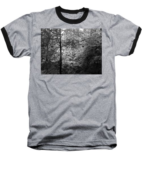 Light In The Woods Baseball T-Shirt