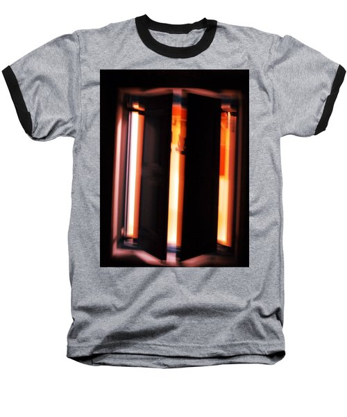 Baseball T-Shirt featuring the photograph Light Reflections by Colette V Hera  Guggenheim