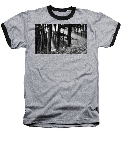 Baseball T-Shirt featuring the photograph Light Through The Trees by Don Schwartz