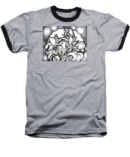 Lily Garden Baseball T-Shirt