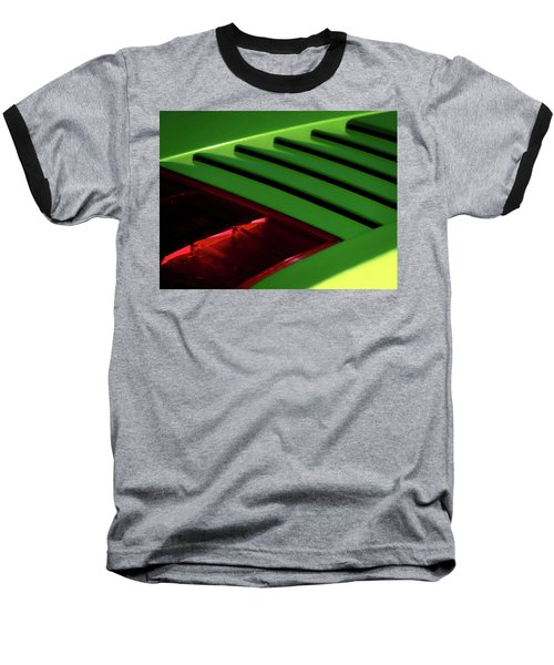 Lime Light Baseball T-Shirt by Douglas Pittman