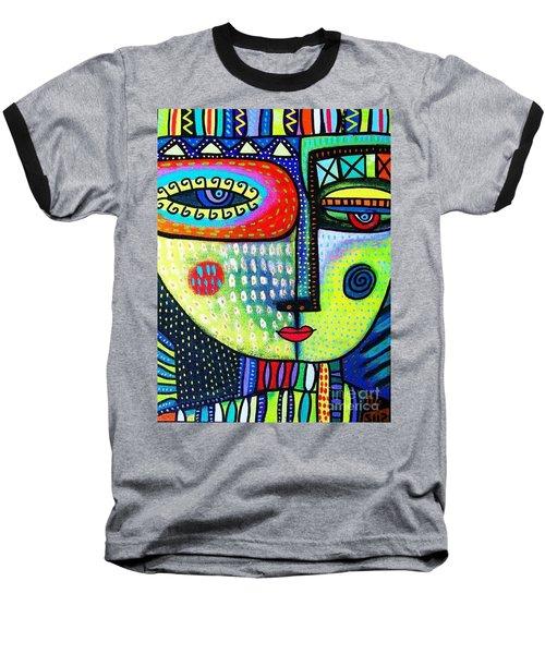 Lime Tree Goddess Baseball T-Shirt