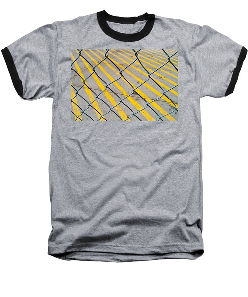 Baseball T-Shirt featuring the photograph Lines by David Pantuso