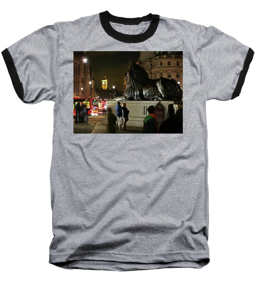 Baseball T-Shirt featuring the photograph Lion An Ben by Pedro Cardona