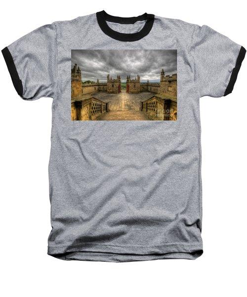 Little Castle Entrance - Bolsover Castle Baseball T-Shirt