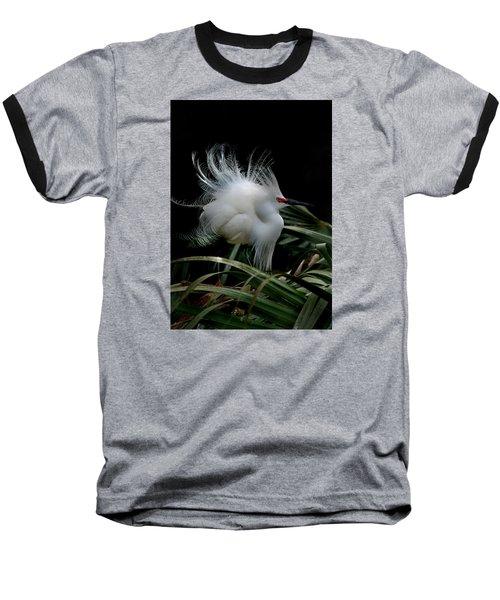 Little Snowy Baseball T-Shirt