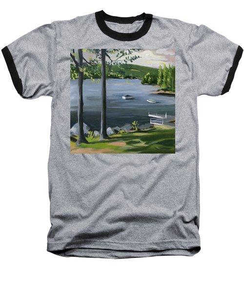 Little Squam In June Baseball T-Shirt