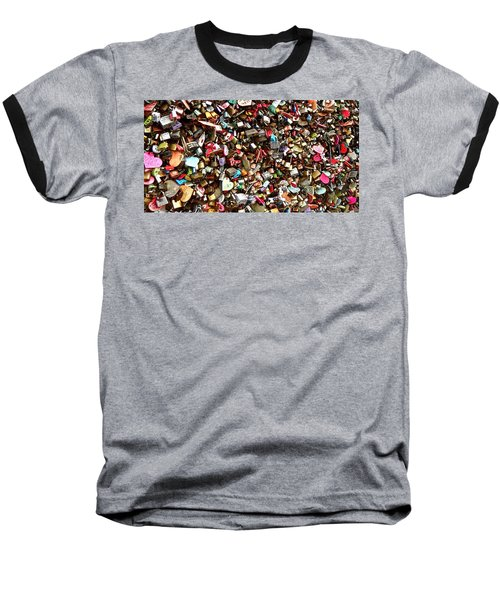 Locks Of Love Baseball T-Shirt by Kume Bryant