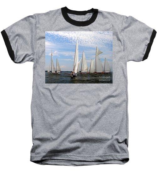 Log Canoes Baseball T-Shirt