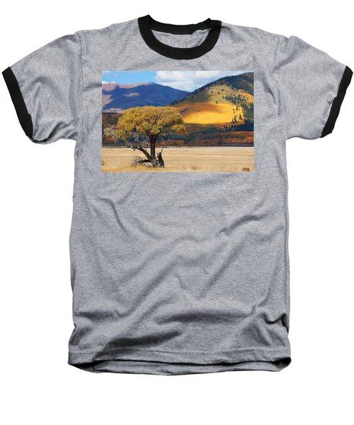 Baseball T-Shirt featuring the photograph Lone Tree by Jim Garrison