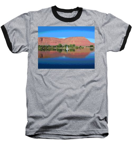 Reflections Of Ivins, Ut Baseball T-Shirt