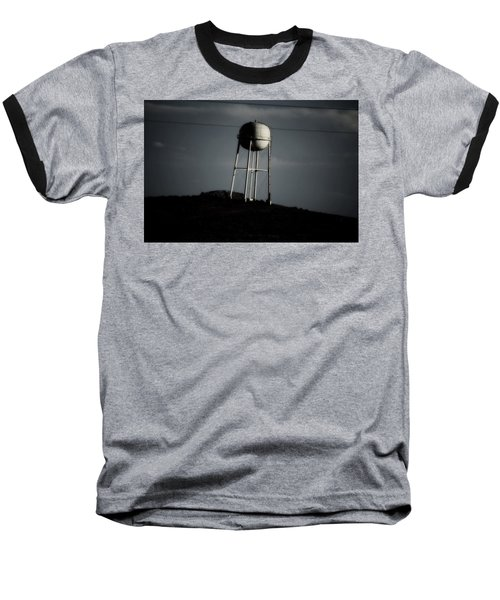 Baseball T-Shirt featuring the photograph Lopsided Tower by Jessica Shelton