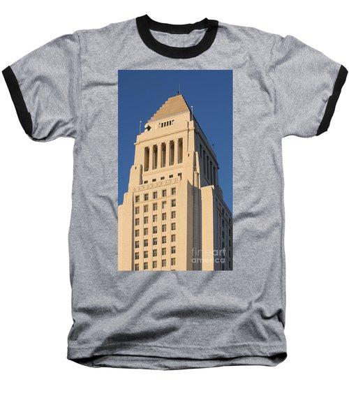 Los Angeles City Hall Baseball T-Shirt