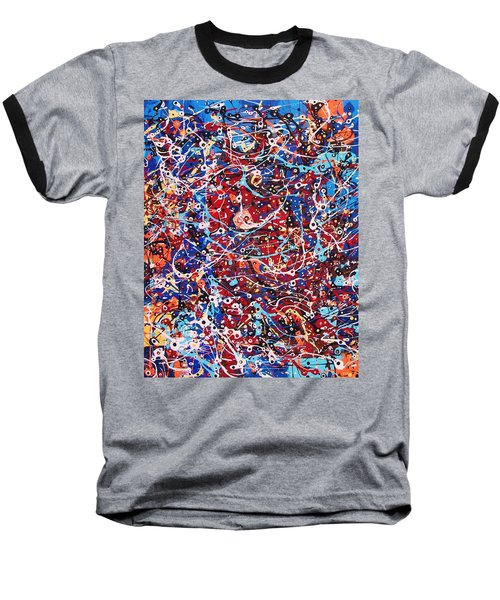 Lost In A Crowd Baseball T-Shirt