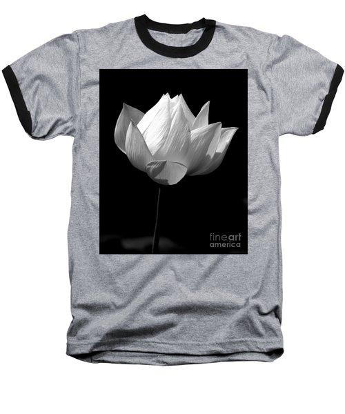 Lotus Bw Baseball T-Shirt