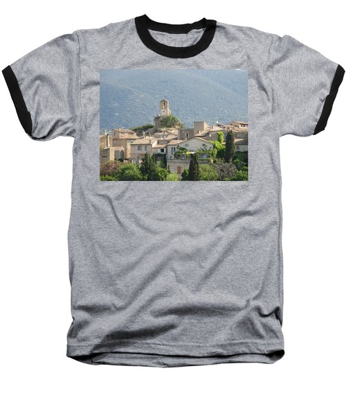 Baseball T-Shirt featuring the photograph Lourmarin In Provence by Carla Parris