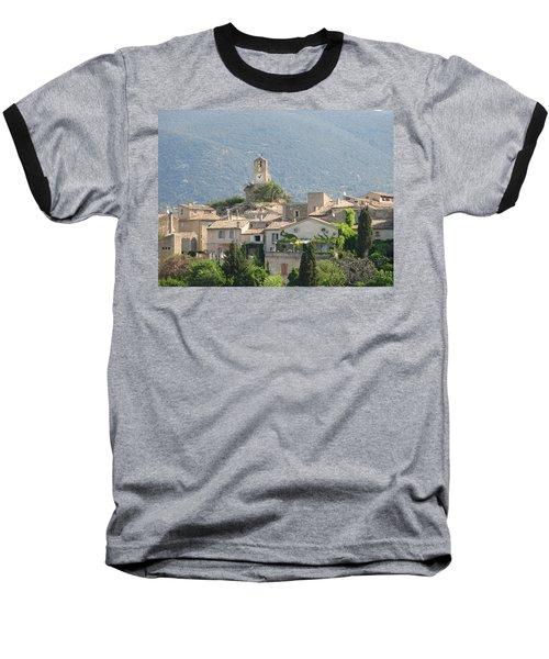 Lourmarin In Provence Baseball T-Shirt by Carla Parris